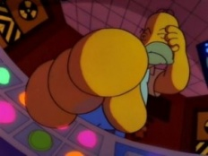 The Simpsons 03x05 : Homer Defined- Seriesaddict